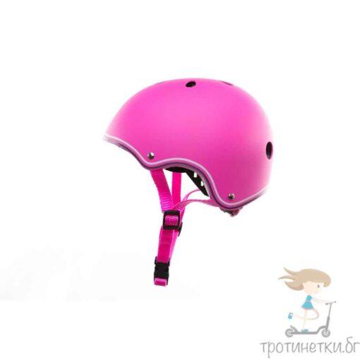 Розова каска за деца - Тротинетки.БГ