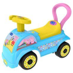 Синьо детско камионче проходилка