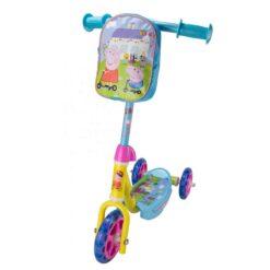 тротинетка с 3 колела и чантичка - Peppa Pig